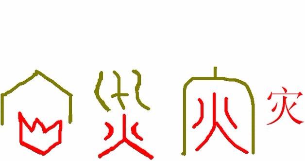 汉字水的小故事