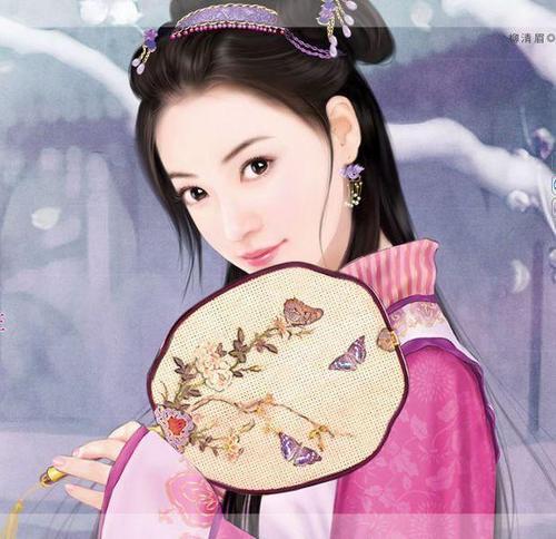 求古装美女小说封面图片120×150