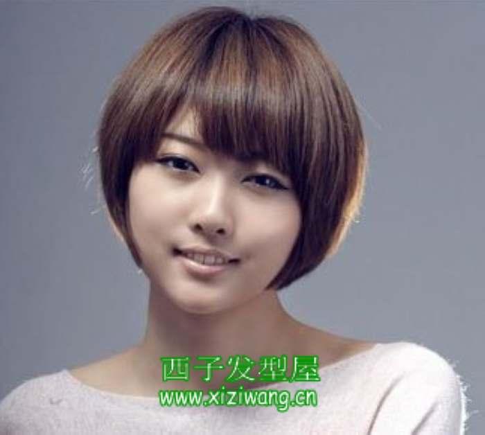 脸大的女生换短发发型
