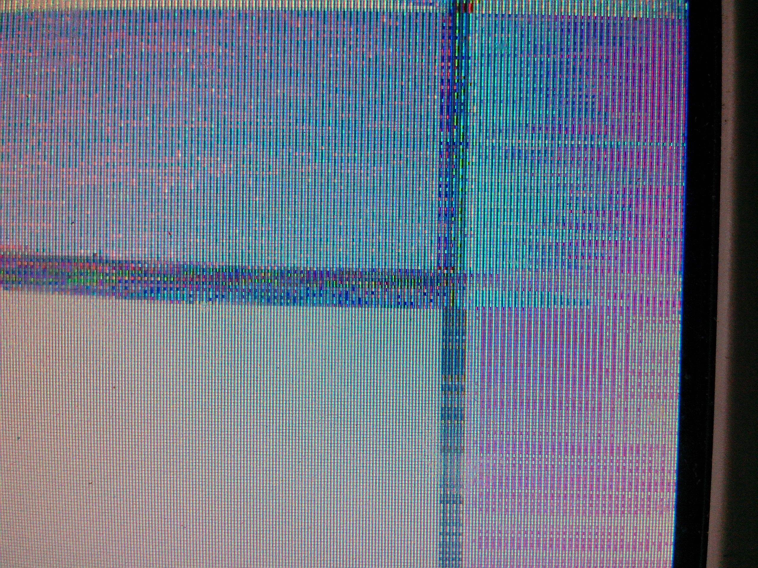 wacom手绘屏开机一段时间后屏幕会变花 是液晶屏本身的原高清图片