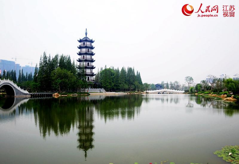 邳州桃花岛旅游景点