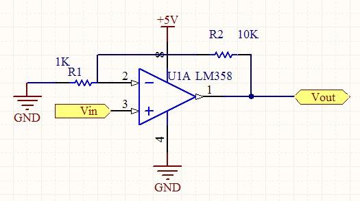 求用lm358的串联负反馈电路(525x294,106k)-反馈电路 正反馈电路 图片