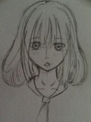 动漫画:这个眼睛画的不好(没学过),眼睛怎么画?图片