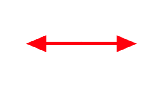 双向箭头矢量图图片