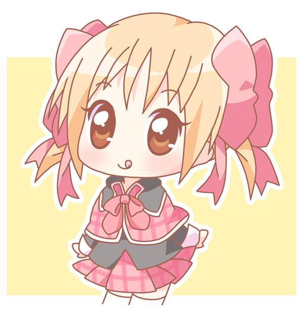 日本动漫女生2个辫子