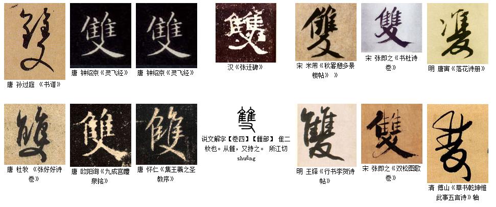 凤有几种繁体字?图片