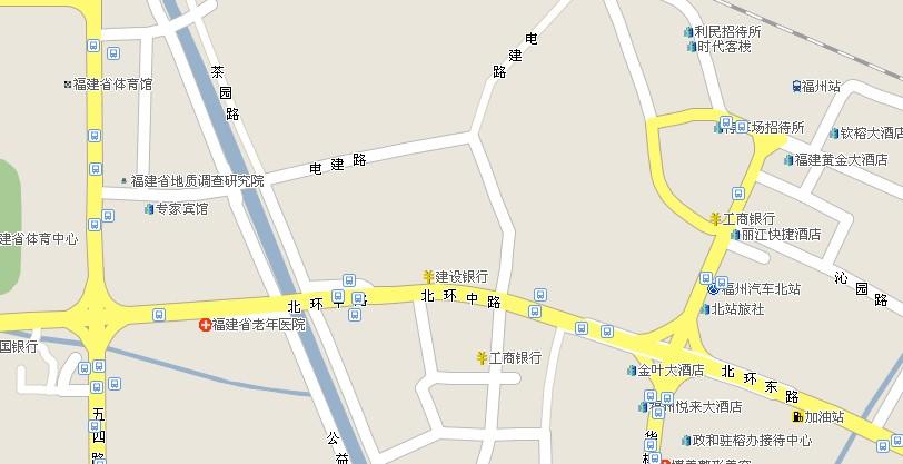 福州老人医院在哪里 高清图片