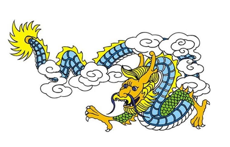 龙的画法 龙头的画法 素描龙的画法图片