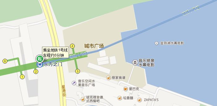 坐地铁怎么去金鸡湖