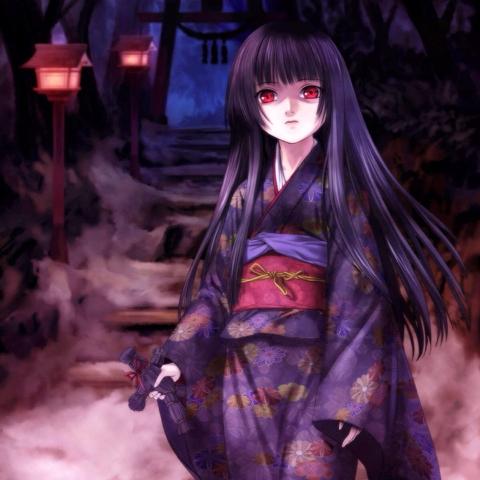 日本著名动漫作品《地狱少女