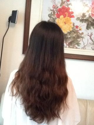 怎么才能看起来头发少一点自然点?图片