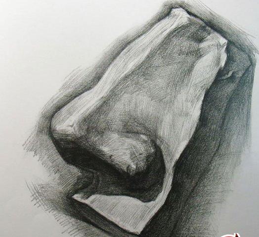 人的鼻子怎么画 动漫鼻子怎么画 鼻子黑头怎么去除图片