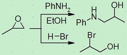 环氧乙烷开环取代