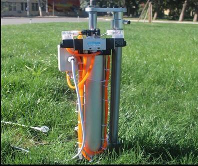 电磁阀加单气缸怎么实现气缸往复运动,用不用线路板,具体线路气路怎么图片