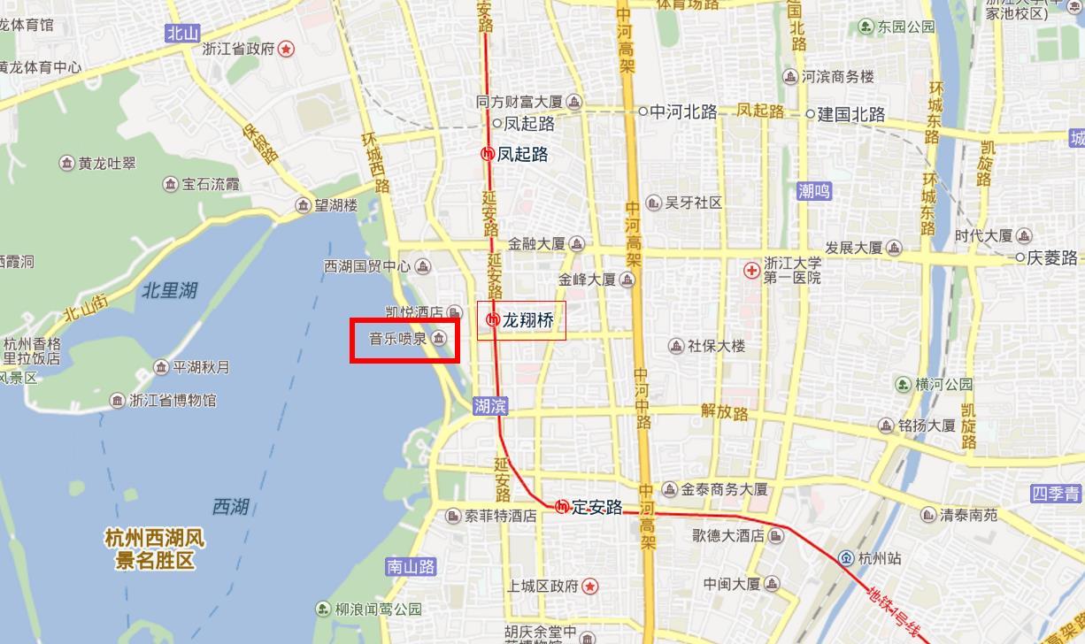 杭州西湖音乐喷泉门票