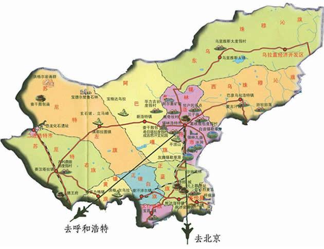 锡林郭勒盟属于哪个市