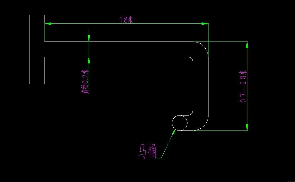 关于卫生间墙排式马桶 能否冲干净问题图片