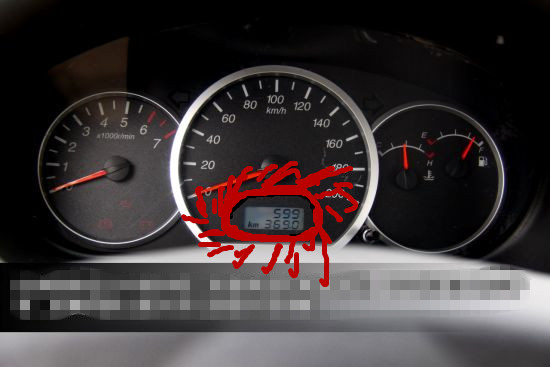 2015排码表高清图_汽车速码表上有两排数字是干嘛的