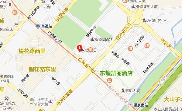 北京通宇思科数字电影学院乘地铁14号线,在哪里下车图片