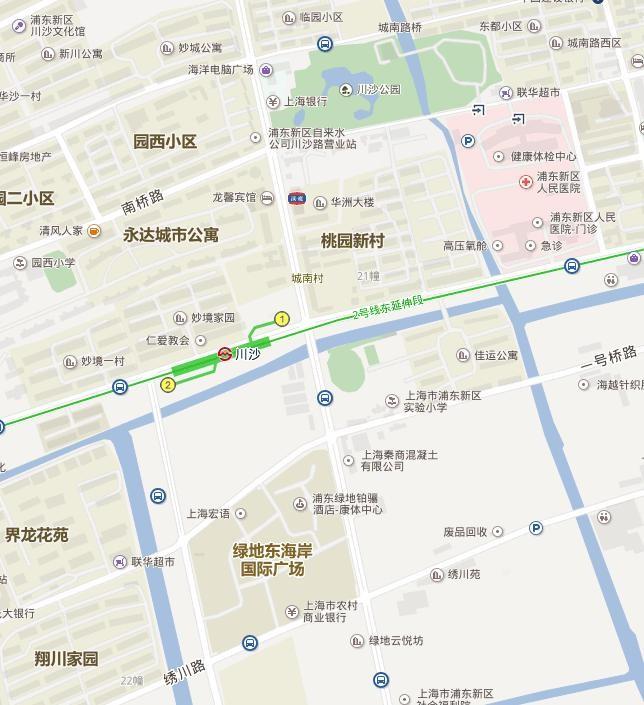 上海川沙附近好玩的