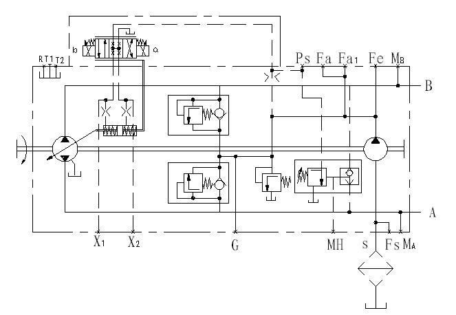 液压控制阀   3, 把压力能转换为机械能的液压执行器(液压马达,液压缸图片