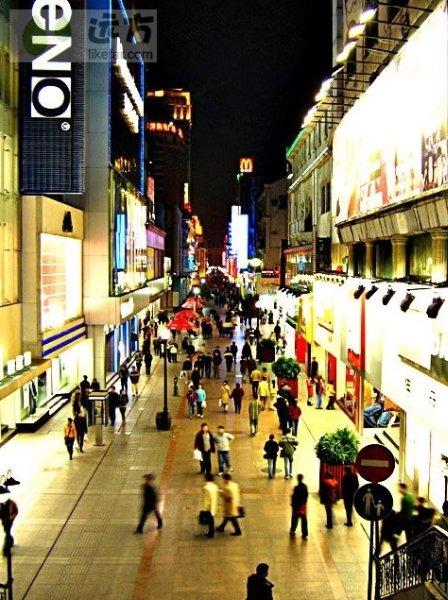 武汉步行街的今日图片