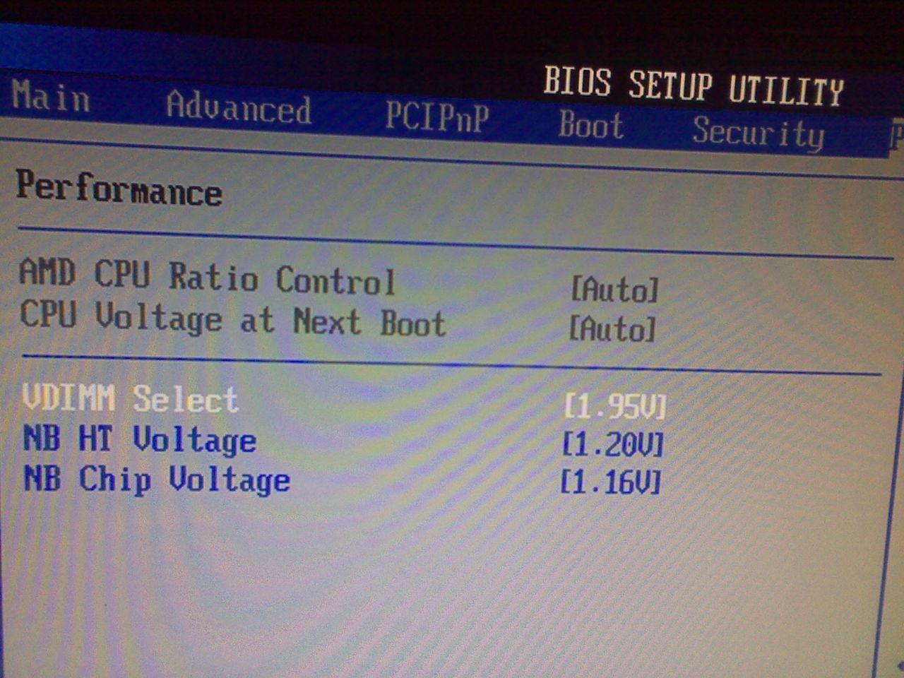 how to set cpu core ratio