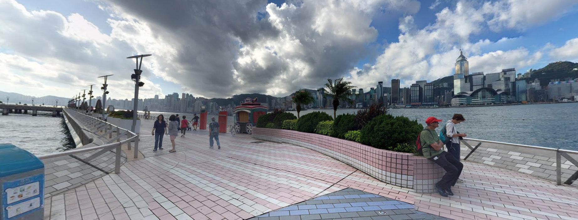 香港星光大道地铁站