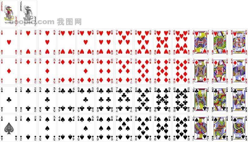 扑克牌共有几种花色_在一副扑克牌中(共54张),至少取出多少张才能保证四种花色的扑克牌都