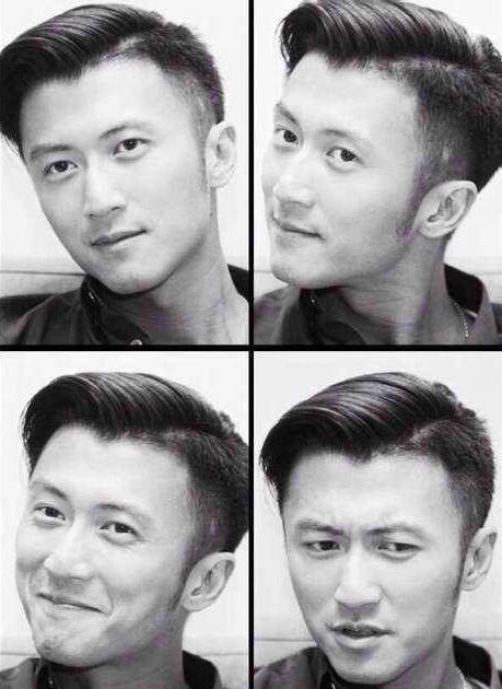 大家看看谢霆锋跟刘德华的发型有区别吗?剪法一样吗?图片