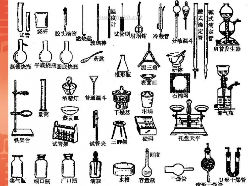 化学室的仪器