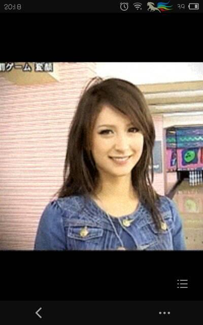 请问这个日本美女的名字?