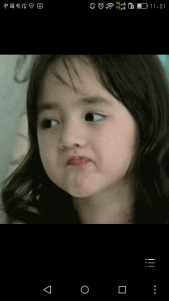 请问下,这个表情包里的小女孩是谁啊?韩国的吗?图片