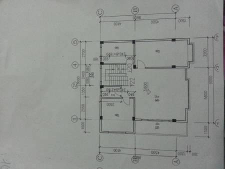 怎么画房屋设计图 20 2011-08-19 问下这个房子设计图上用什么软件画图片