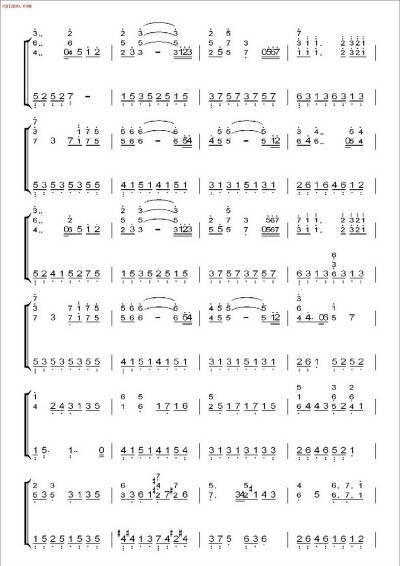 谁会弹钢琴,谁有kiss the rain的简谱图片