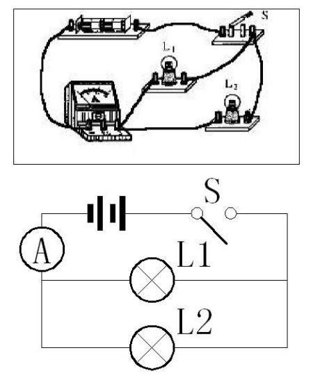 初二物理串联和并联的实物画电路图的题型怎么做?图片