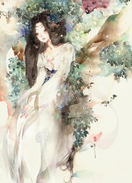 求自己认为最美的古典美女图全身图哈
