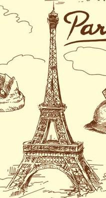 有没有埃菲尔铁塔的铅笔画 简笔画,埃菲尔铁塔简笔画 巴黎铁塔简笔
