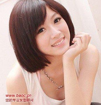 求几种女生短发发型图片图片