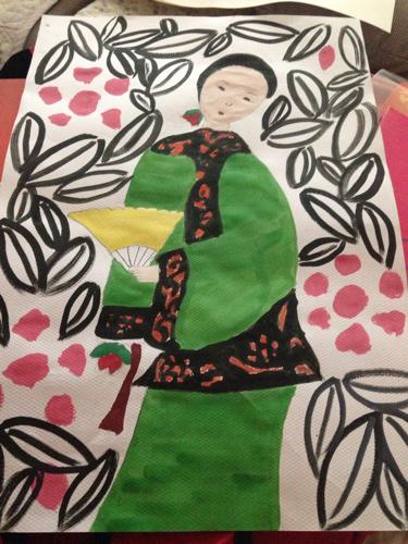 儿童画 375_500 竖版 竖屏图片