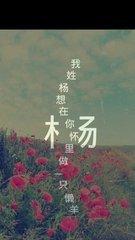 姓氏图片文字我姓杨图片