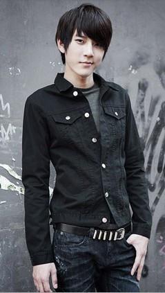矮个子男生服装搭配+发型图片