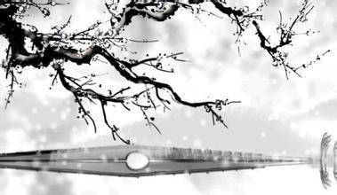 求断桥残雪的古风哀伤图.我要定做折扇!谢谢各位!图片