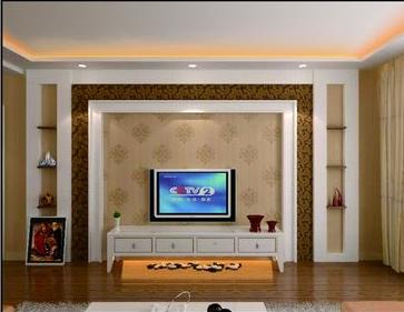 楼房坐西向东,请问进门见沙发好,还是见电视背景墙好图片