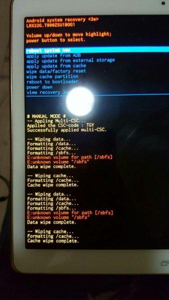 5.3恢复sm属性_三星sm-t800平板电脑双清后是这样显示的 请问那位大神知道这算不算