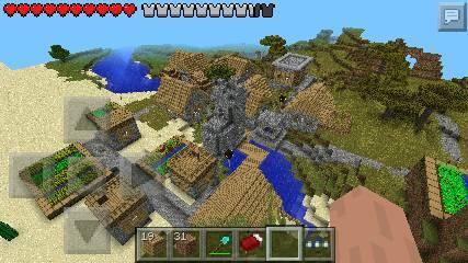 类型:jpg 我的世界村庄生存/创造地图下载 长:600px;高:440px;图片