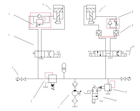 7 2011-05-20 液压摆式剪板机不工作是什么原因,电路正常 7 2009-07-1图片