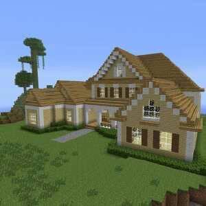 本人在我的世界不会设计房子求设计图