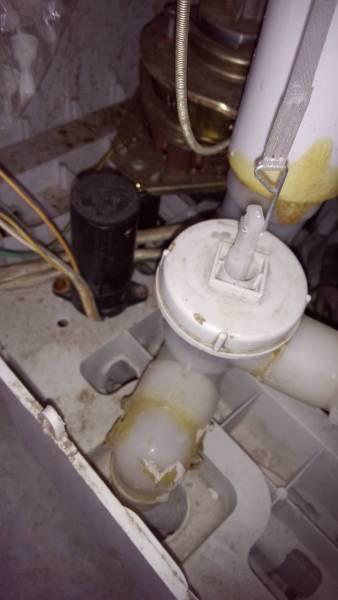 海尔半自动洗衣机这个排水阀怎么打开?图片