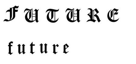 """纹身 1 2010-06-06 哪位能帮我把""""刺青""""两个字写成哥特式字体?图片"""